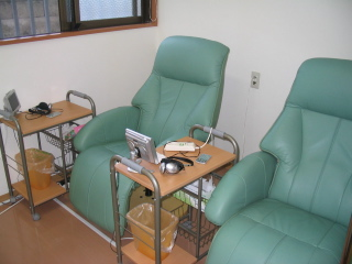 大腸内視鏡検査の前処置には専用の個室を用意しています。